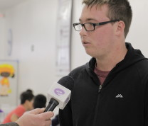 Community Center First Day Volunteer Interview