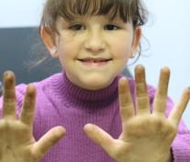 Community Center Gardening Kid Hands