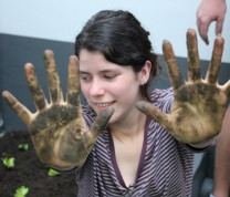 Community Center Gardening The Result Hands