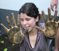 Community Center Gardening The Result Hands