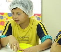 Community Center Kids Baking