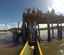 GoPro  Boat Paddling International Service Learning Program NMC