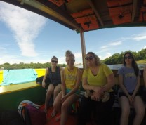 International Service Learning Boat Ride
