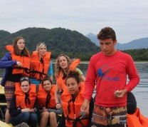International Service Learning Boat Ride Safety