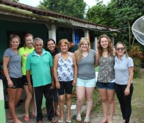 International Service Learning Local Family